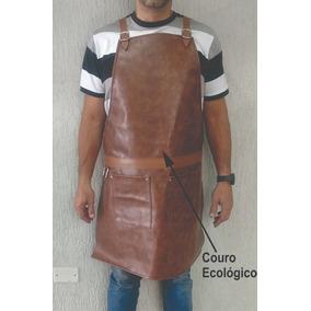 Avental Churrasco Couro Sintetico - Aventais no Mercado Livre Brasil b234de4d2a
