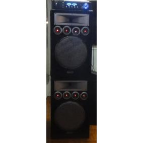 Amplificador + 2 Cajones De Sonido