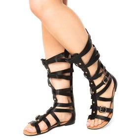 0267f8d25c Sandalia Rasteirinhas Feminina Gladiadora Kit Dakota - Sapatos no ...