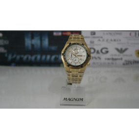 Relógio Magnum Cronógrafo 10atm, 44mm - Ma32201h