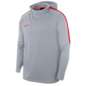 Sudadera Nike Dry Acdmy 926458-012 Gris Caballero Oi