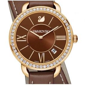 Reloj Dama Swarovski 5160730 Maquinaria Suiza Agua Or
