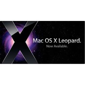 Mac Os X Leopard 10.5 En Dvd Sencillo G4 G5 Ibook Powermac