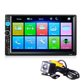 7010b 7 Polegada Bluetooth V2.0 Tela Tft 12 V Carro Auditivo
