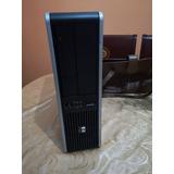 Cpu Hp Quad Core/ 2gb Ram /160gb Disco
