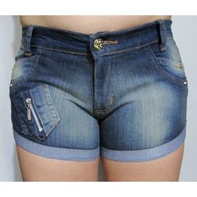 Short Jeans Feminino - Vl 011 - Vid4 Lok4