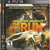 Ps3 Need For Speed The Run Limited Edition
