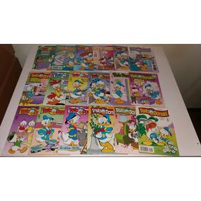 Gibi Pato Donald Lote Com 18 Diferentes Gibis Pato Donald