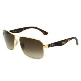 Ray Ban Rb3516 Highstreet - Óculos De Sol - 001 13 - Lente 6 7be5e341b4