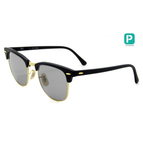 9181b3ce2b93a8 51 Polarizado De Sol Ray Ban Clubmaster Aluminum Rb3507 - Óculos no ...