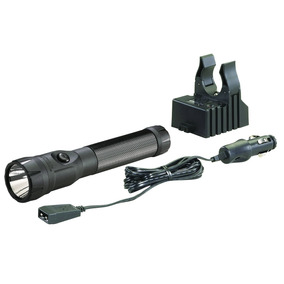 Streamlight 76112 Polystinger Led Flashlight With Dc Charger
