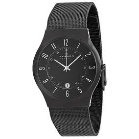 Lindo Relogio Skagen Denmark Titanium - Relógios De Pulso no Mercado ... 2d6a7f95d2