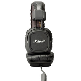 Fone De Ouvido Marshall Major Black Headphone Preto