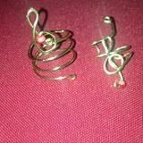Midi Ring / Solitario Ear Cuff