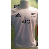 Camisa All Blacks - Branca 2018/19