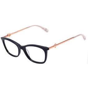 Love Moschino Mol528 - Óculos De Grau Pjp 17 Azul E Dourado cc867708be