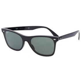 Óculos Sol Ray-ban Blaze Wayfarer Nylon Rb4440 Preto Classic c73ce80805