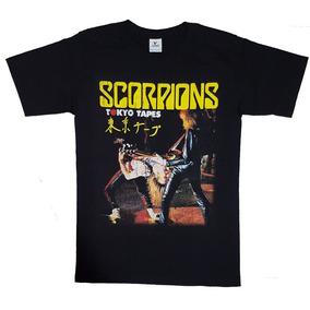 Playera, Camiseta Scorpions Tokyo Tapes Rock, Metal