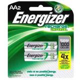 Pilas Recargables Aa Energizer Pack X2 Pilas - 1,2v 2000mah