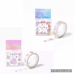 Fita Decorativa Washi Tape Fofo Gatinho