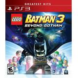 Lego Batman 3: Beyond Gotham Ps3 Nuevo Y Sellado