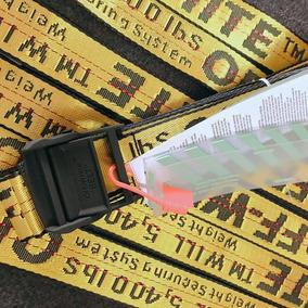 Cinturón Off White Yellow Industrial, Belt, Assc, Yeezy