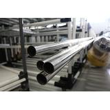 6 Tubos De Inox De 1 Metro - 1mm, 2mm Espessura Várias Cores