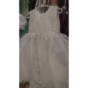Vestido Blanco Niña Elegante Envio Gratis