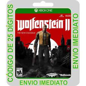Wolfenstein 2 Xbox One Digital Codigo 25 Digitos