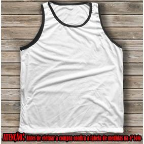 Kit 15 Camisetas Regatas Unisex Para Sublimação