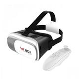 Óculos Realidade Virtual Vr Box 2.0 3d Android Ios +controle