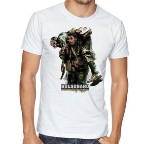 Camisa Personalizada Jair Bolsonaro Com Enéas