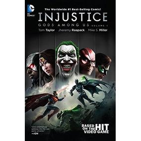 Hq - Injustice Deuses Entre Nós Ano 0 Ao 5 - Completo Em Pdf