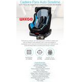 Cadeira Auto Size4 Azul Weego 0 Até 25 Kg Envio Imediato