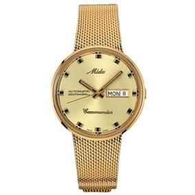 4bbcf9c6fda8 Reloj Mido Extraplano En Chapa Servicios - Reloj Mido en Mercado ...