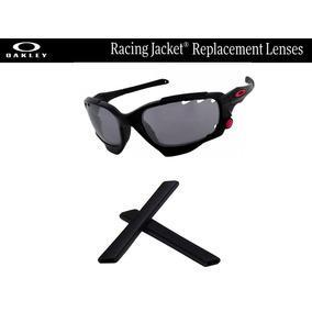 Gomas De Repuesto Para Oakley Racing Jacket Color Negro