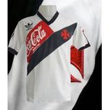 66e8d8ccc4 Camisa Retrô Vasco Branca -1989 - Coca Cola Vermelha