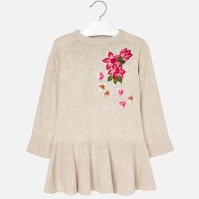 Vestido Niña 2-9 Años Formal Bordad Mayoral Petite Couture