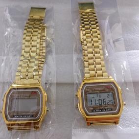 5fc956e9c14 Relogio Estilo Casio Vintage - Relógios De Pulso no Mercado Livre Brasil