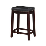 Counter Stool Banco Color Negro De Madera