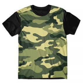 Camisa Camiseta 3d Full Camuflada Camo Exército Elite Swag 3a3cf57c13d