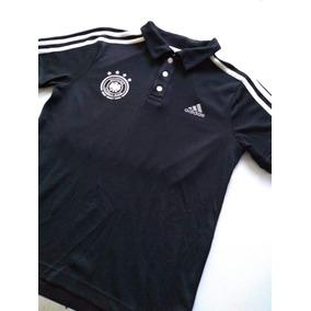 Playera Tipo Polo Alemania (talla Mediana Joven 14 Años) 9f2a06626f3cd