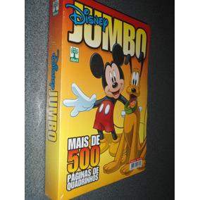 Gibi Da Disney Jumbo Disney 6 - 500 Pág. Novo Super Lacrado!