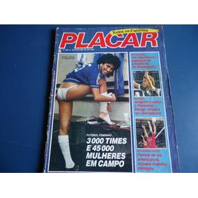 Placar 738 13 Julho 84 - Vandira - Futebol Feminino, C. Adão