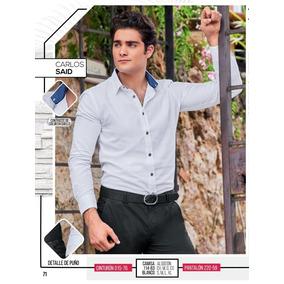 Camisa Slim Fit Cklass P/hombre 114-63 Pv-2019 Elegante