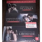 Box Cinquenta Tons De Cinza - 3 Filmes - Estendida - Lacrado