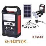 Kit Panel Solar Con Equipo Multifunción Radio
