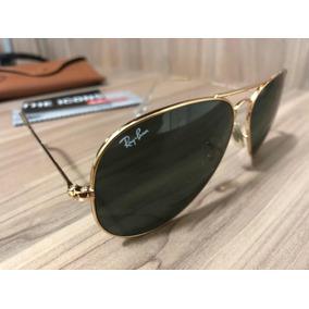 Oculos Rayban Aviador Original - Óculos De Sol Ray-Ban Aviator ... aeff623626