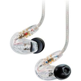 Fone De Ouvido In Ear Shure Se215 Transparente | Original