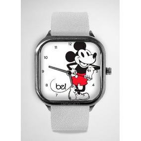 4f77a307ddd Relogio Mickey Bewatch - Pulseira Couro Branco Original